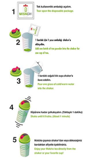 MATCHA ÇAYI (30 Günlük Detox Çayı)
