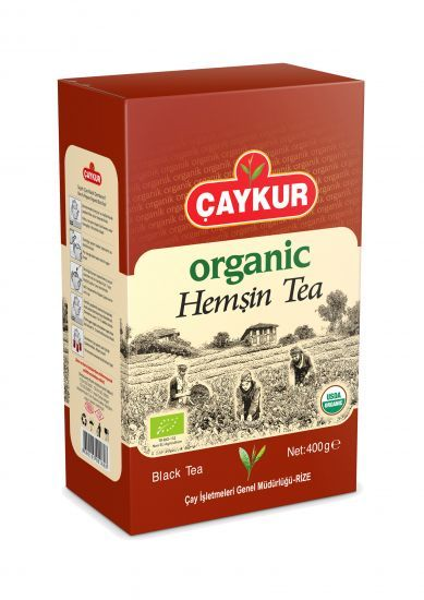 Organik Hemşin Çayı 400 Gr.(Karton Kutu)